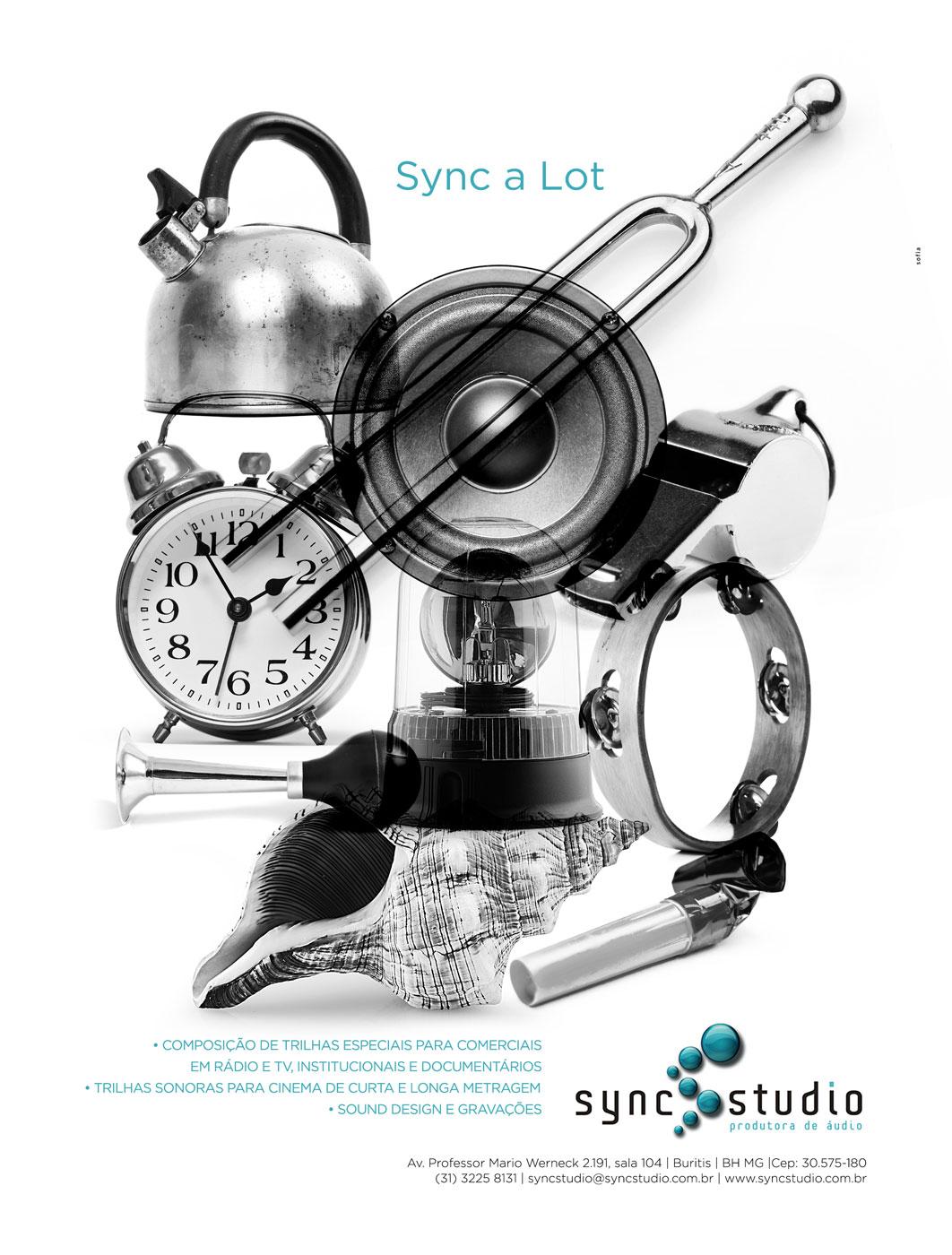 Anúncio - Sync Studio
